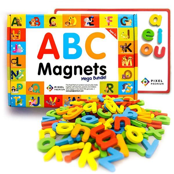 Pixel Premium ABC Magnets Mega Bundle